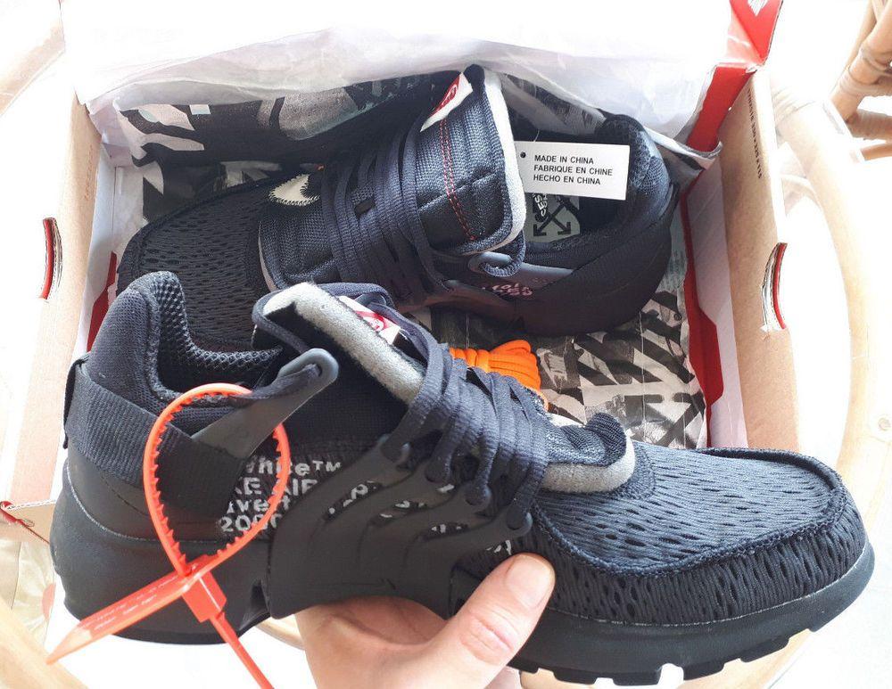 Off-White x Nike Air Presto Black  62f03f766