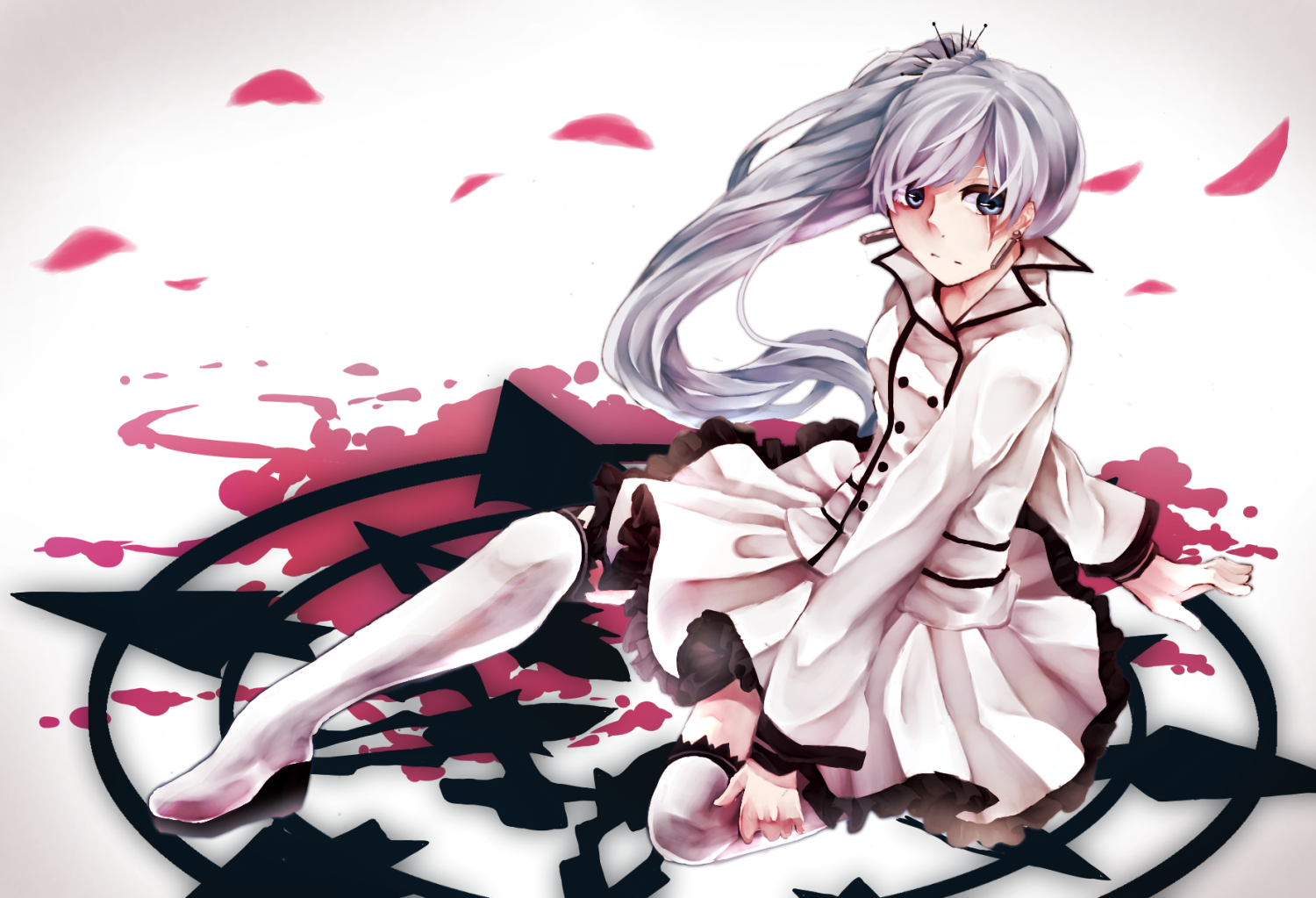 Anime Rwby Weiss Schnee Schnee Snowpea Outfit Rwby Wallpaper Rwby Rwby Anime Rwby Wallpaper