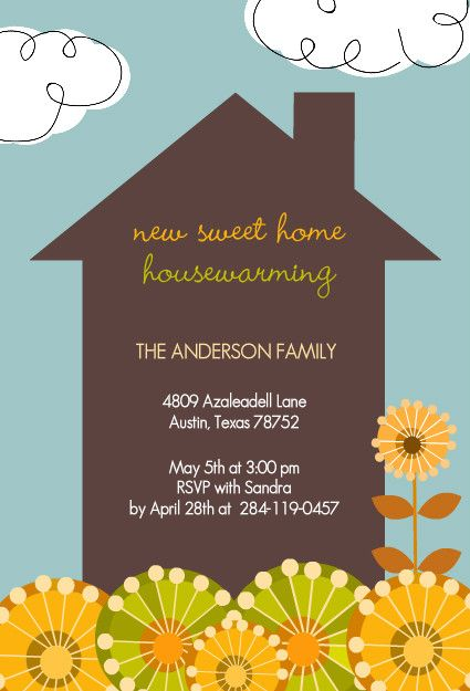 Garden Home Housewarming Party Invitation By Purpletrail Com House Warming Invitations House Warming Party Gift Housewarming Invitation Templates