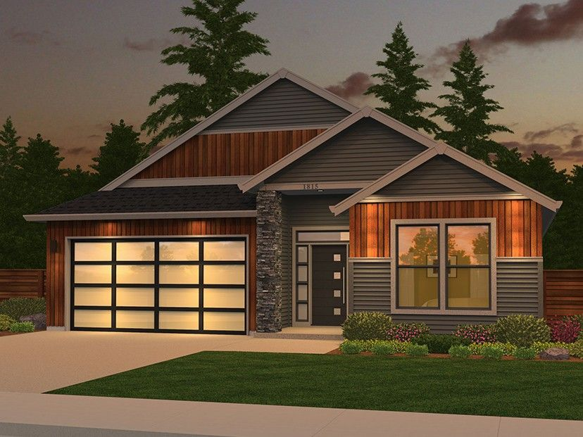 Ranch House Plan Home Plan with 1815