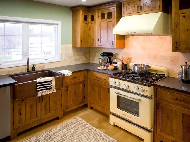 Маленькая кухня в стиле кантри | Маленькая кухня кантри | Pinterest