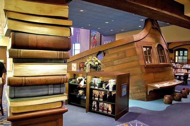 Wooden Ship And Books By Tacopoet99 Via Flickr Camarillo Public Library 4101 Las Posas Rd Camarillo California Parents Room Camarillo Wooden Ship