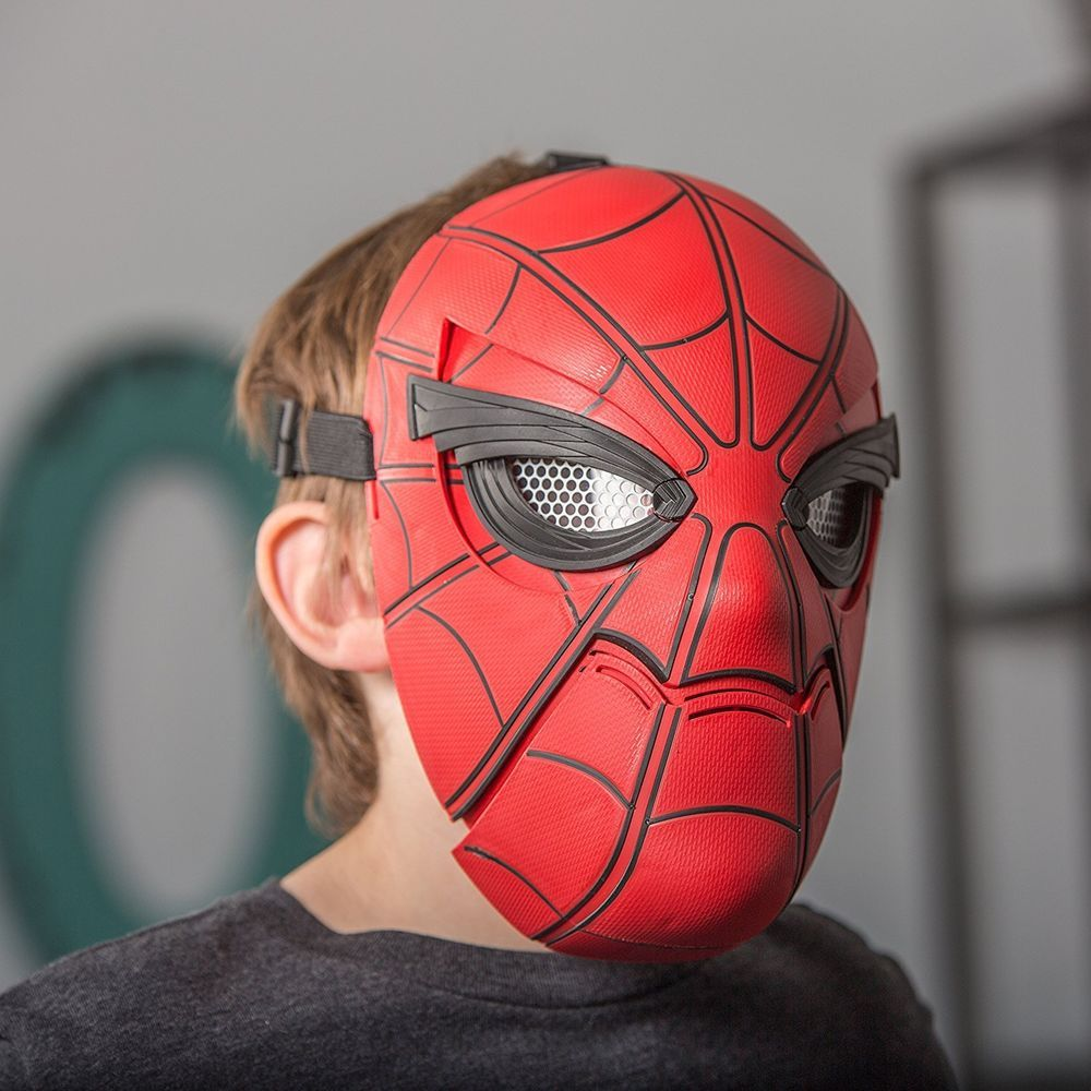 Spider Man Homecoming Mask Marvel Hasbro Hero Boy Eyes Move Sight