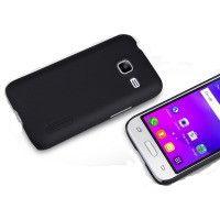 Чехол для сматф. NILLKIN Samsung J1 mini/J105 - Super Frosted Shield (Черный)
