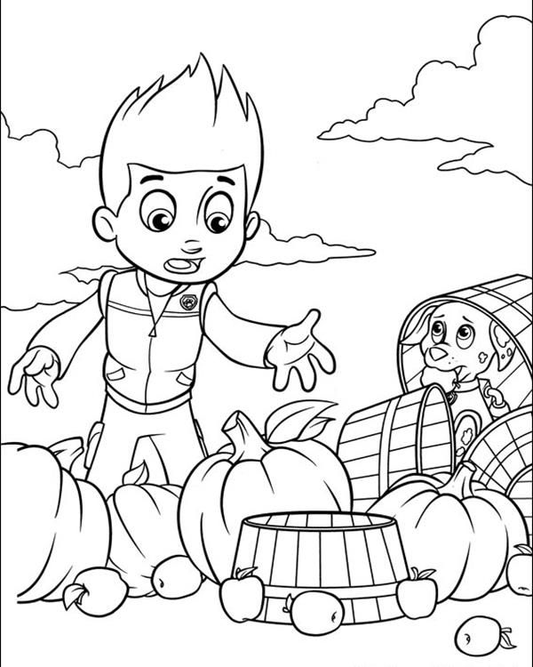 Paw Patrol Coloring Pages | Kids Coloring Pages | Paw ...