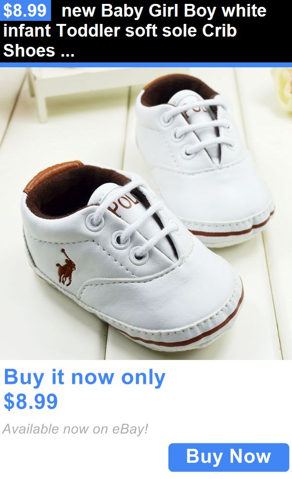 634cacd939a4f5 Baby Boy Shoes  New Baby Girl Boy White Infant Toddler Soft Sole Crib Shoes  Sneaker 0-18 Months BUY IT NOW ONLY   8.99