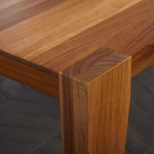 Nice Anderson Dining Table 60u0026quot; Acacia, Raw. Expandable Dining TableSolid  Wood ...