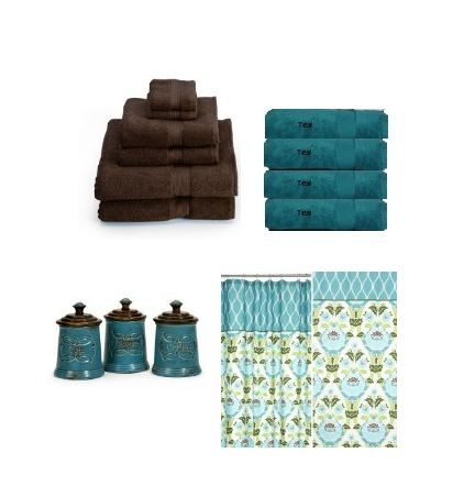 Teal Bath Towels For