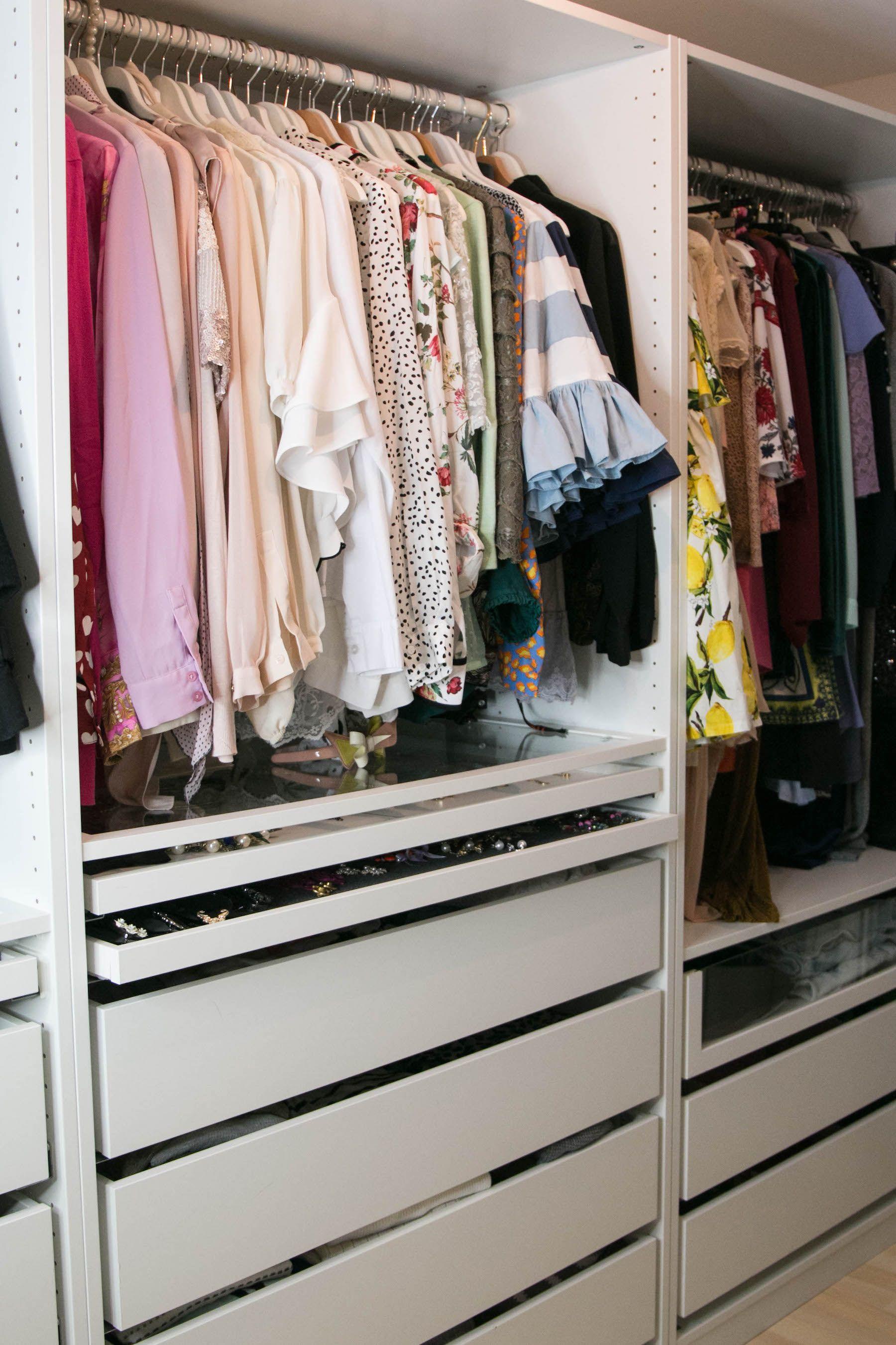 Mein Ankleidezimmer Mit Ikea Pax Gewinnspiel Sara Bow Ankleide Begehbarer Kleiderschrank Planen Ankleide Zimmer