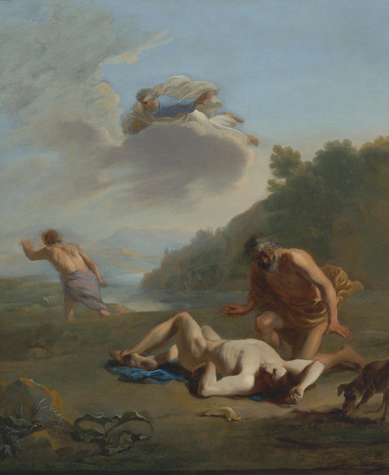 Cain And Abel C S By Karel Dujardin Dutch Artist