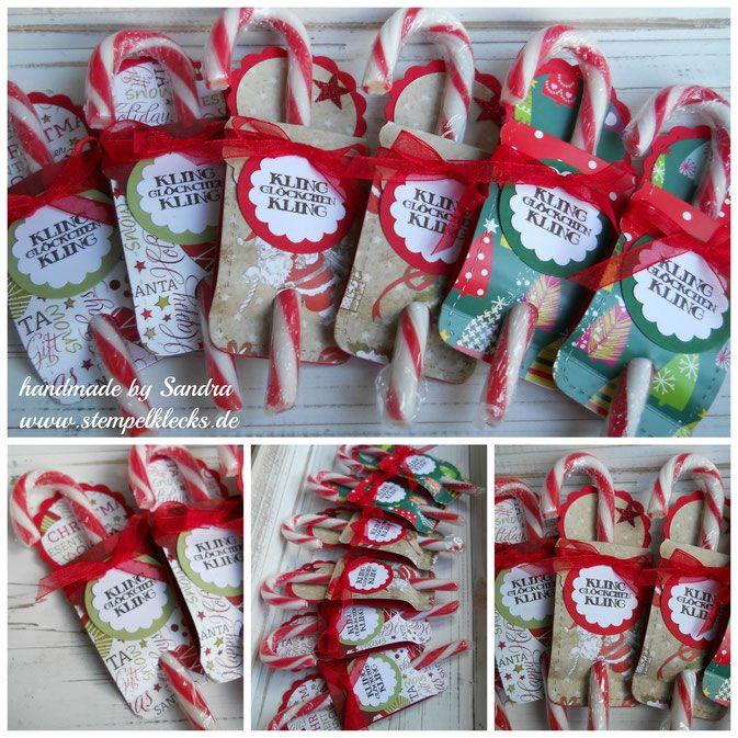 Zuckerstangen-Verpackung für Nikolaus
