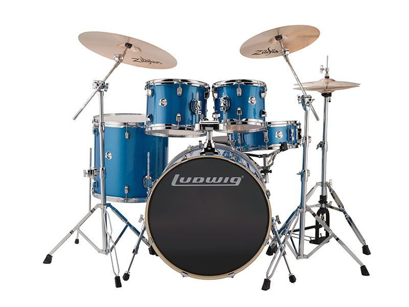 Element Evolution Series Designed As An Intermediate Drum Set The
