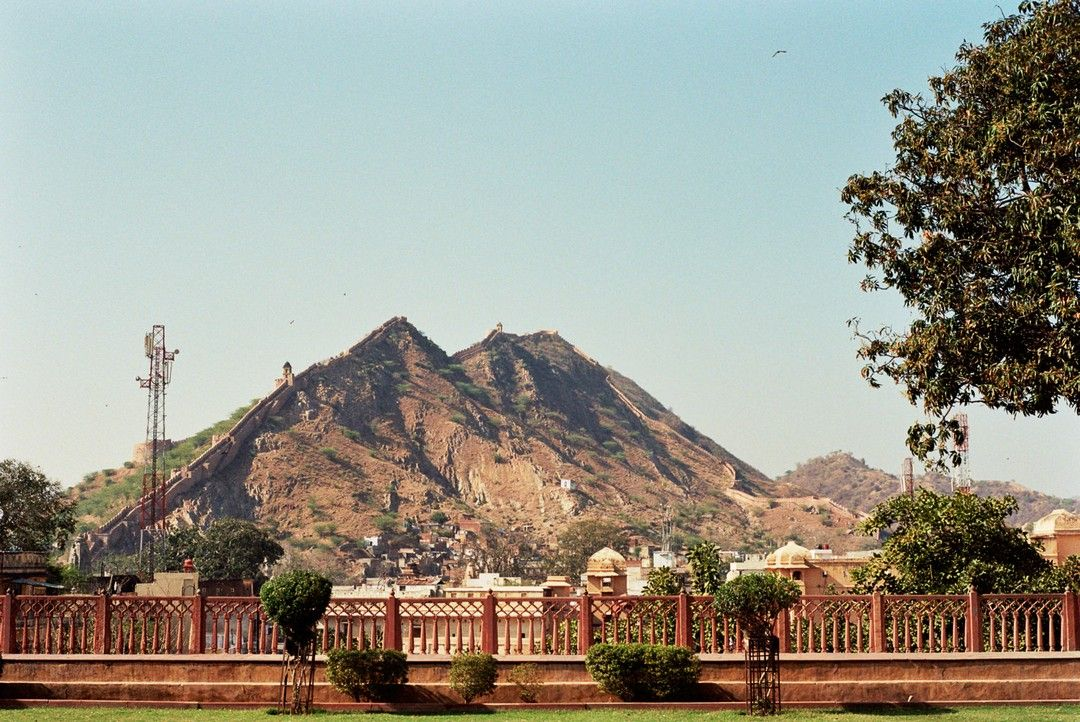 One of the many red forts Rajasthan, India 2013 #35mm Fine art prints available