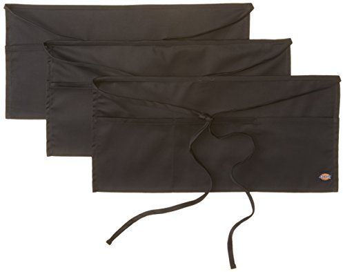 Dickies Chef 3 Packthree Pocket Server Apron Black One Size