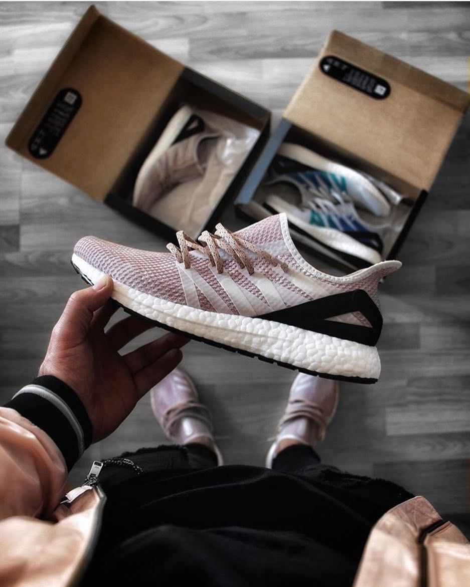 more photos 2fd1d 5d9f5 The adidas Futurecraft AM4PAR features a pink upper - beautiful! Tag  sneakersmag for a shoutout! by mrflintstone sneakersmag adidas ...