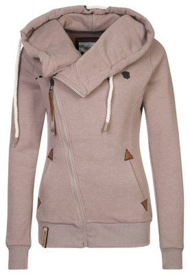 41851039d247 Naketano Sweatjacke - light brown melange - Zalando.at   Stuff for ...