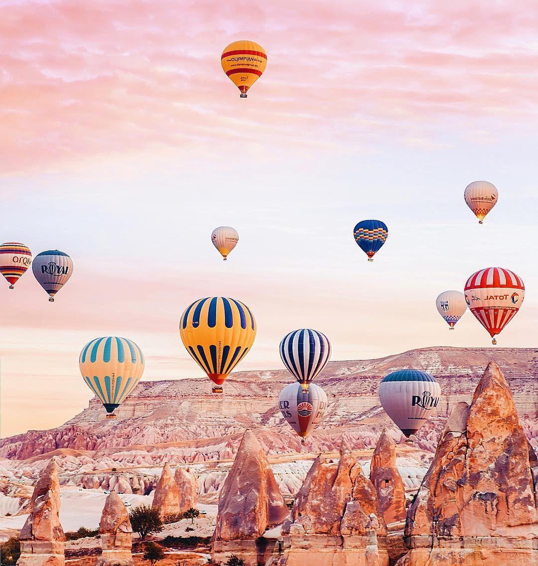 Elle réalise de sublimes photographies de la Cappadoce, le