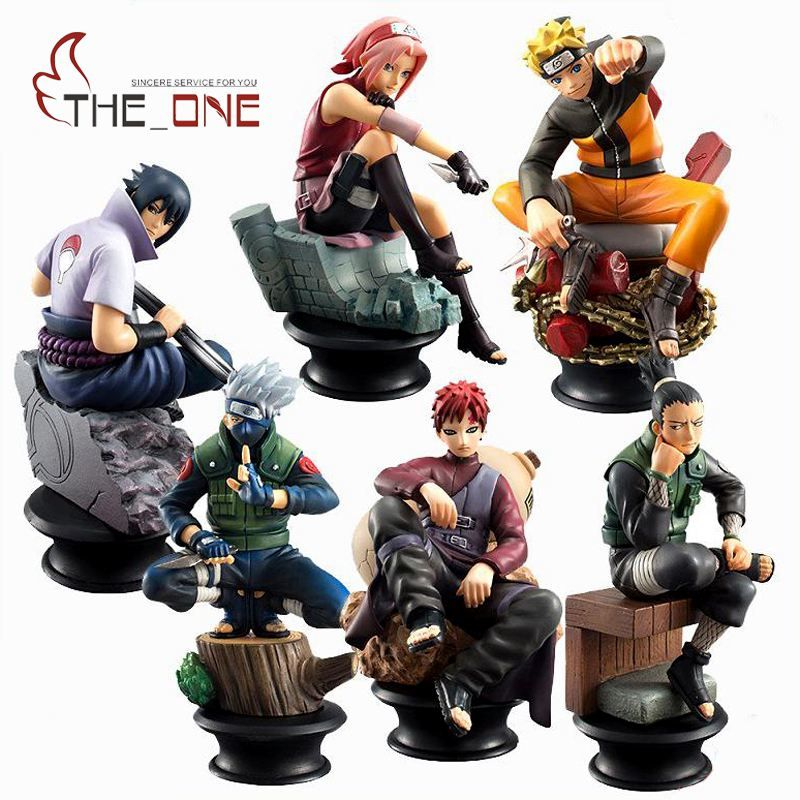 Naruto Action Figures Set 5 Pcs Free Shipping Worldwide With
