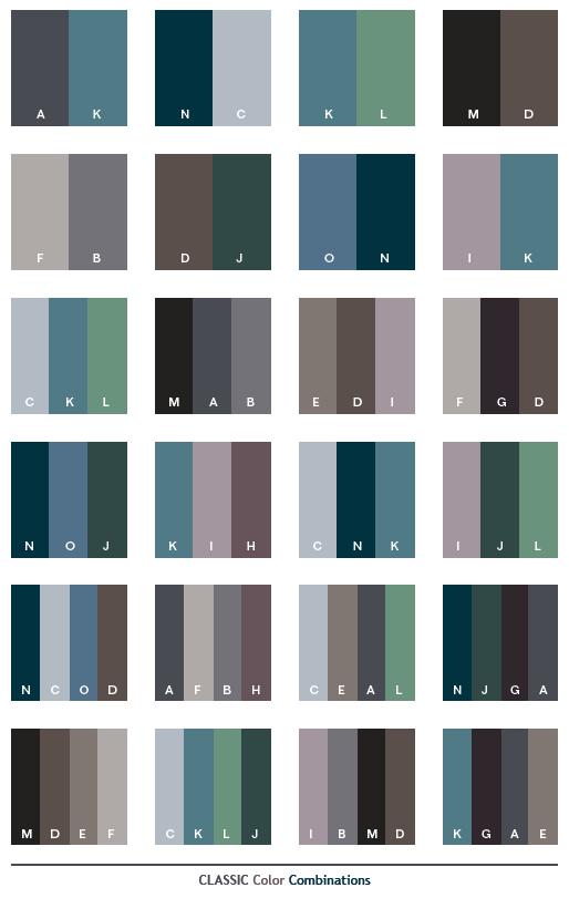 color combinations for graphic design classic color schemes color