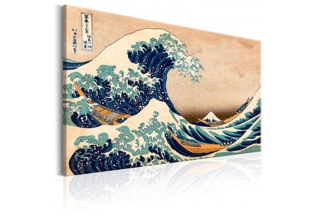 Tableau The Great Wave Off Kanagawa Reproduction Grande Vague De Kanagawa Art Japonais La Grande Vague