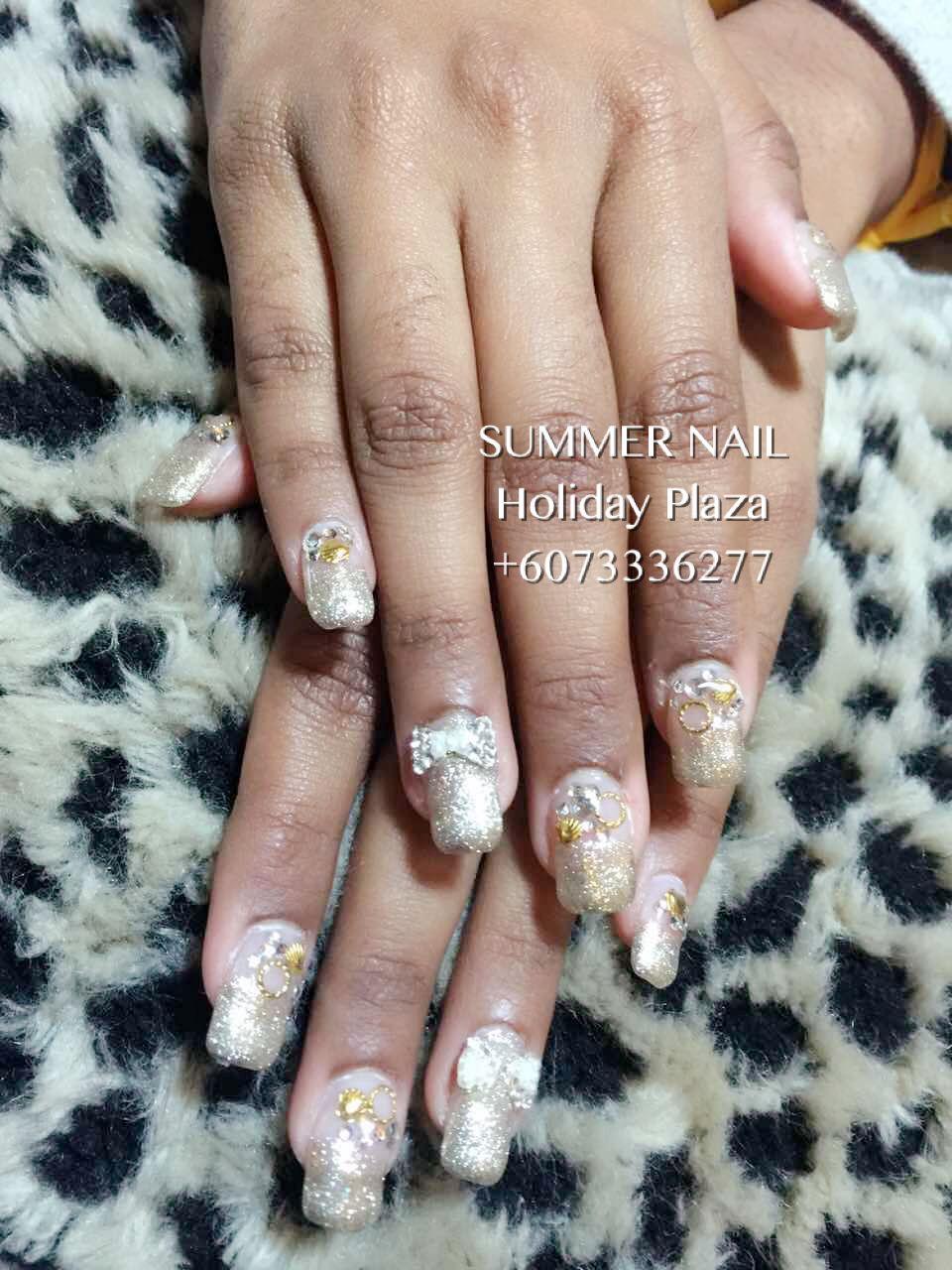 Summer Nail Wedding Nails Design Summer Nails Bridal Nails