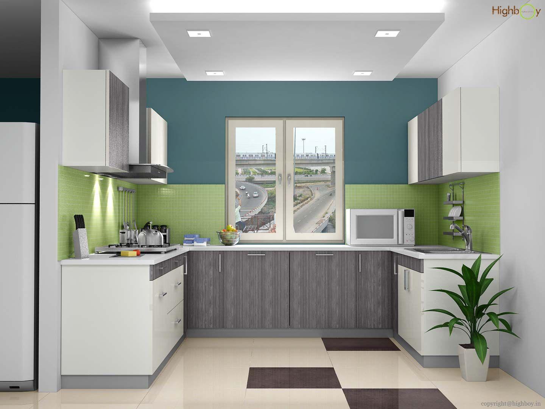 Pin de Highboy Furnishing en U-Shaped Modular Kitchen Designs ...