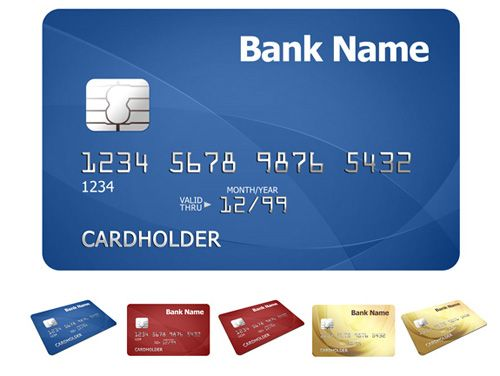Credit card template - Photoshop PSD file page ideas Pinterest - id card psd template