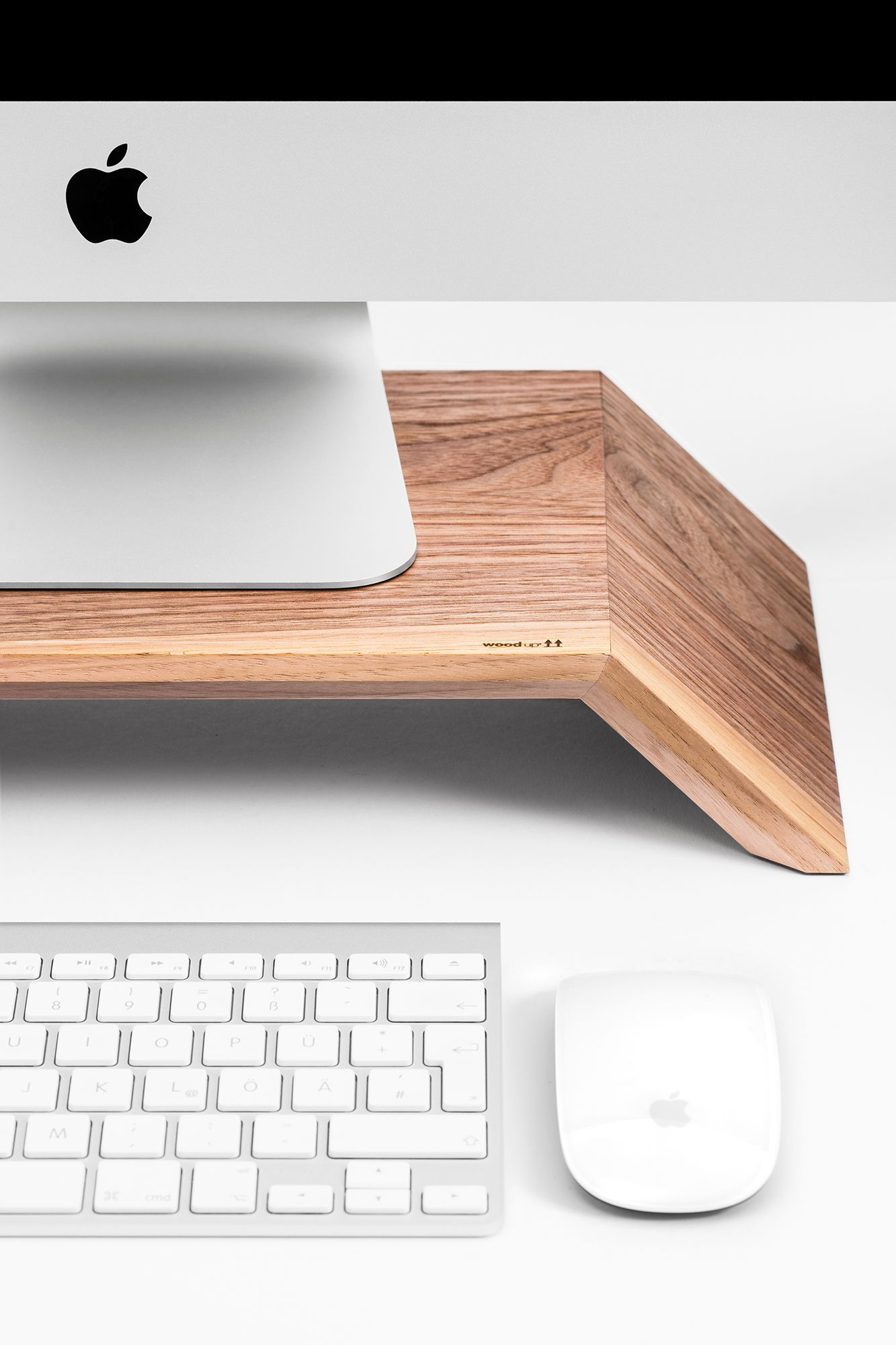 Monitor wood iMac stand by WoodUp