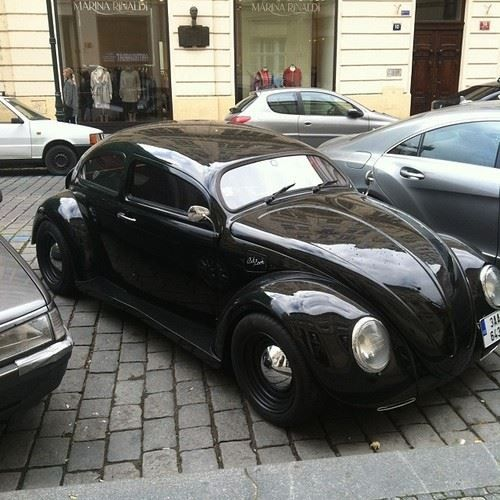 Chopped Volkswagen Beetle