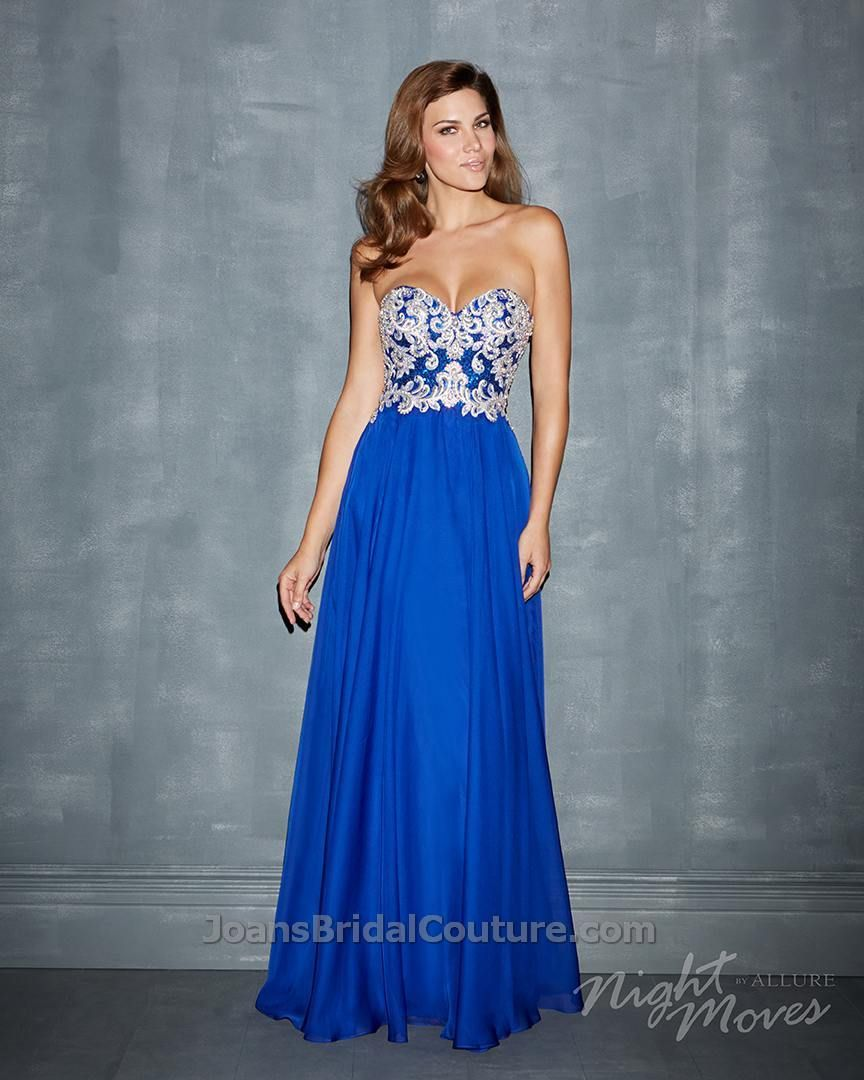 Night Moves 7000 - View at Joan's Bridal Couture's Night Moves Trunk Show - March 7-9, 2014