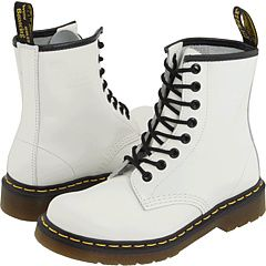 Dr. Martens 1460 | Boots, White leather