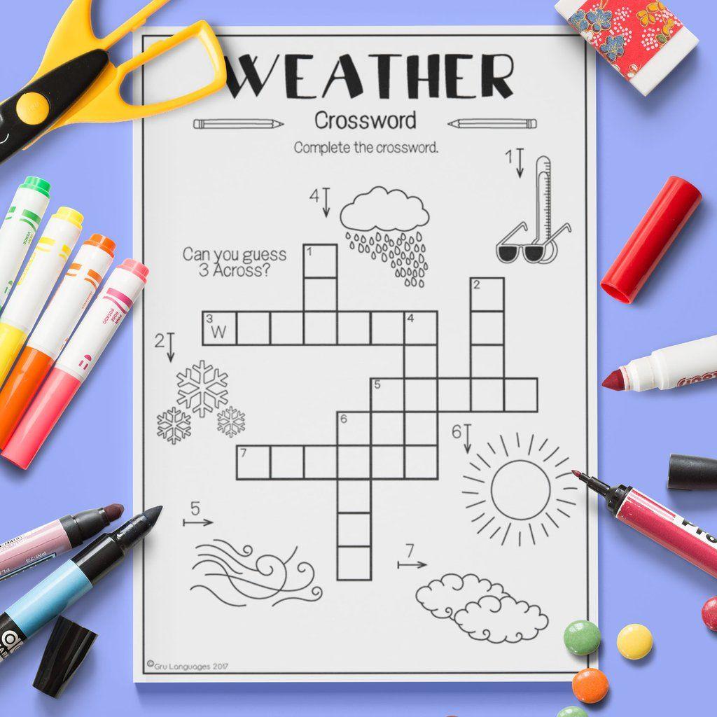 weather 39 crossword 39 esl weather. Black Bedroom Furniture Sets. Home Design Ideas