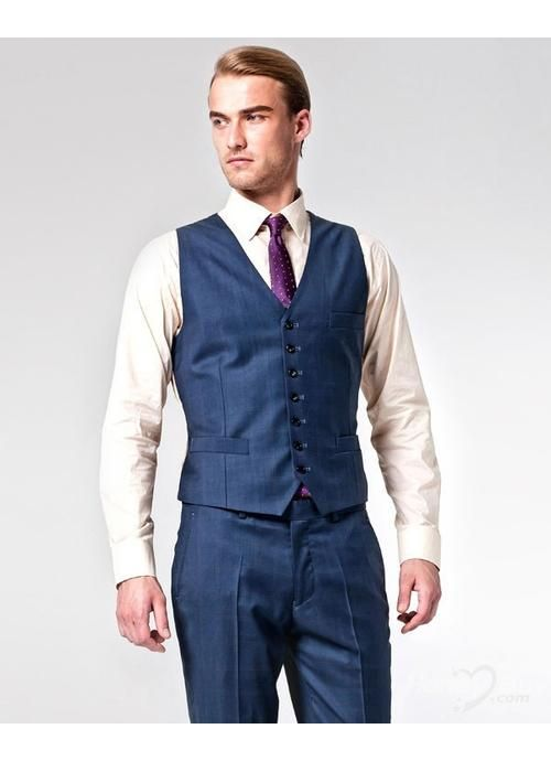 Navy vest and pants would look great on kyle | Lemony Wedding ...