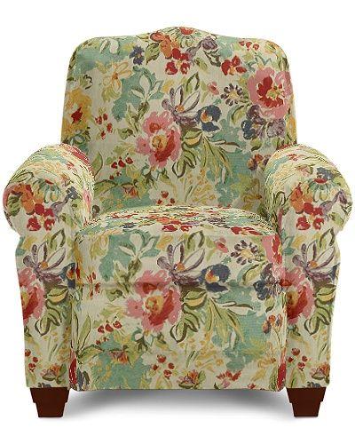 Brilliant Faris Low Profile Recliner By La Z Boy With Watercolor Evergreenethics Interior Chair Design Evergreenethicsorg
