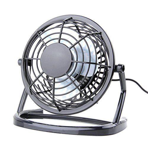 Usb Fan Usb Mini Desktop Office Fan With 360 Rotation Black