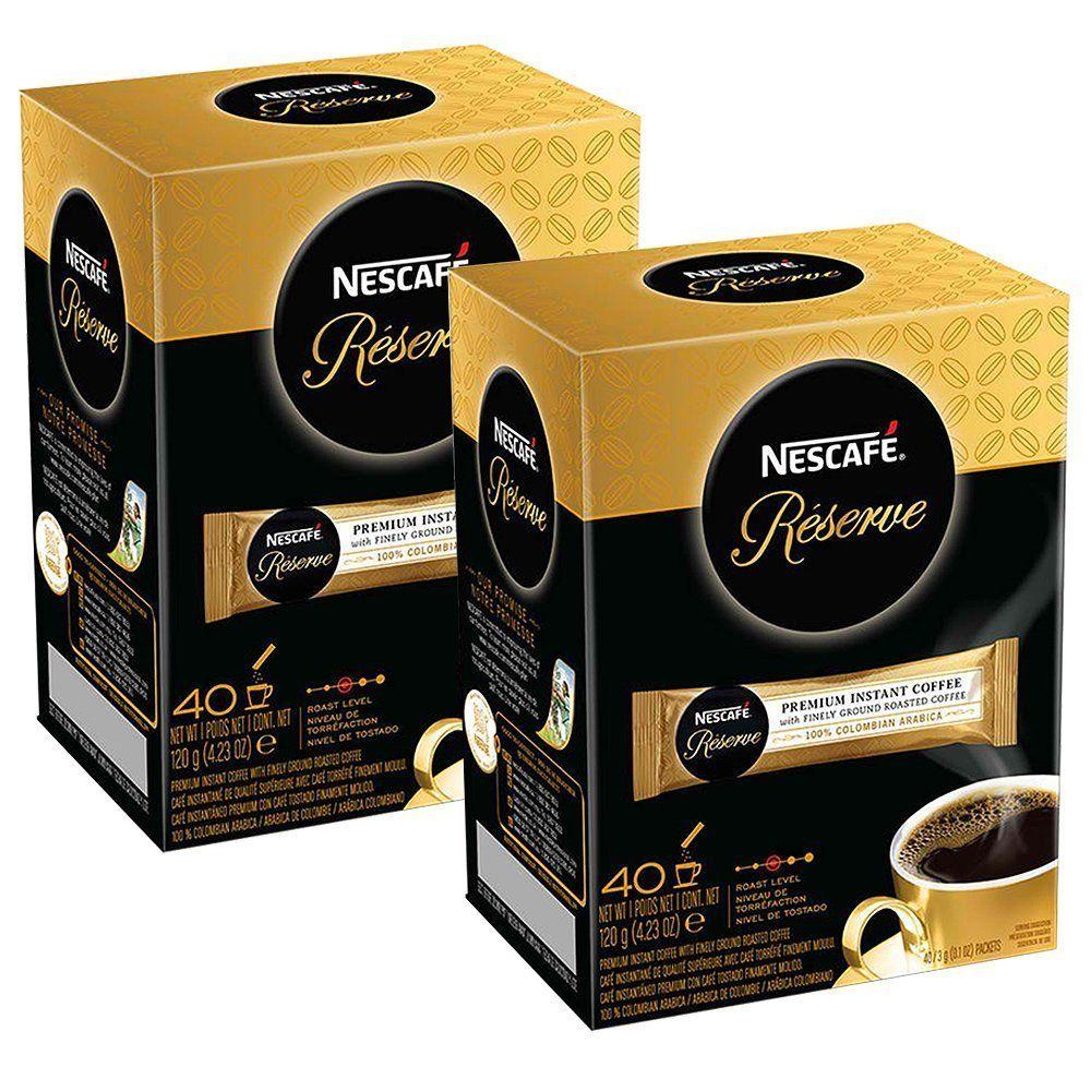Nescafe Reserve Premium Instant Coffee (2 Pack