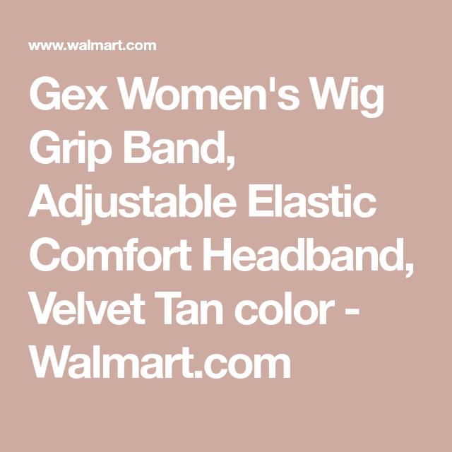 Gex Women S Wig Grip Band Adjustable Elastic Comfort Headband