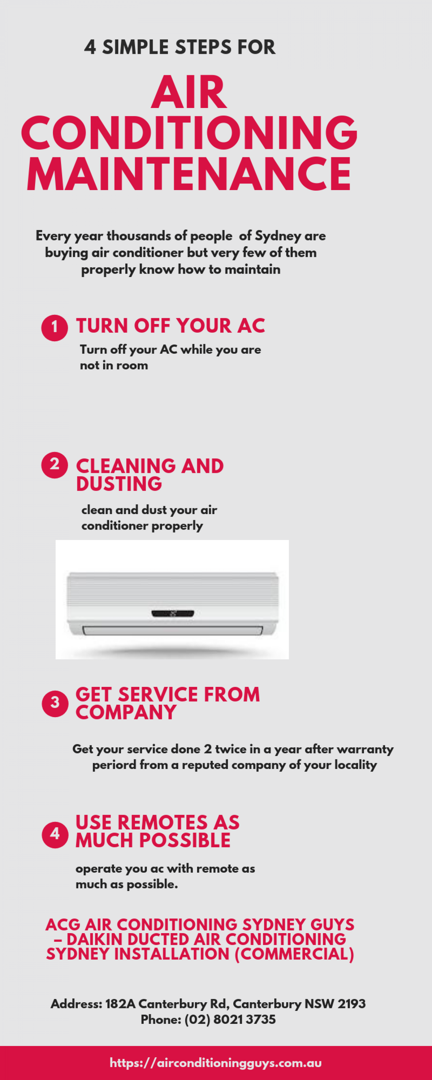 Air Conditioning Maintenance by Air Conditioning Sydney