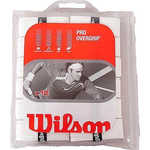 Wilson Pro Overgrip Tennis Racquet Grip 12 Pack Tennis Racquet Racquets Tennis