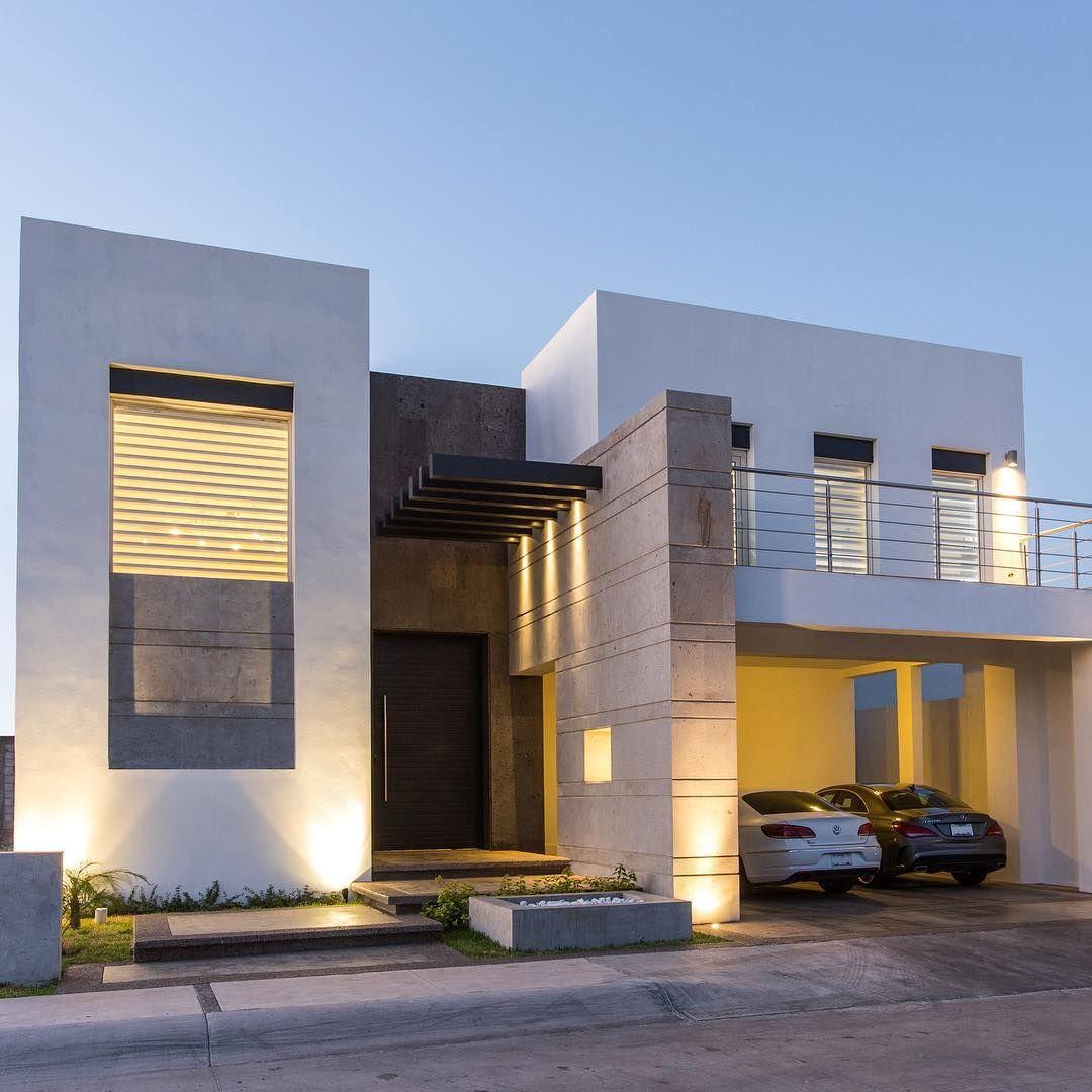 Casa rf8 por grupo arsciniest en lossantosresidencial for Fachadas de casas modernas en hermosillo