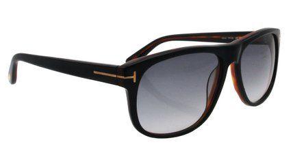 7002813eaf Tom Ford Men s Sunglasses Black   Tortoise  Amazon.co.uk  Clothing ...