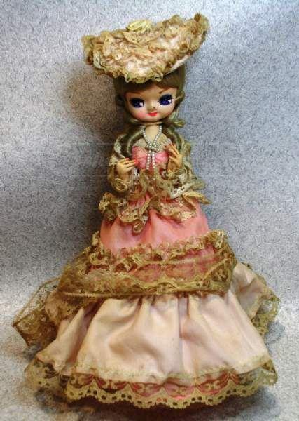 shopgoodwill.com: Fancy Vintage Musical Doll
