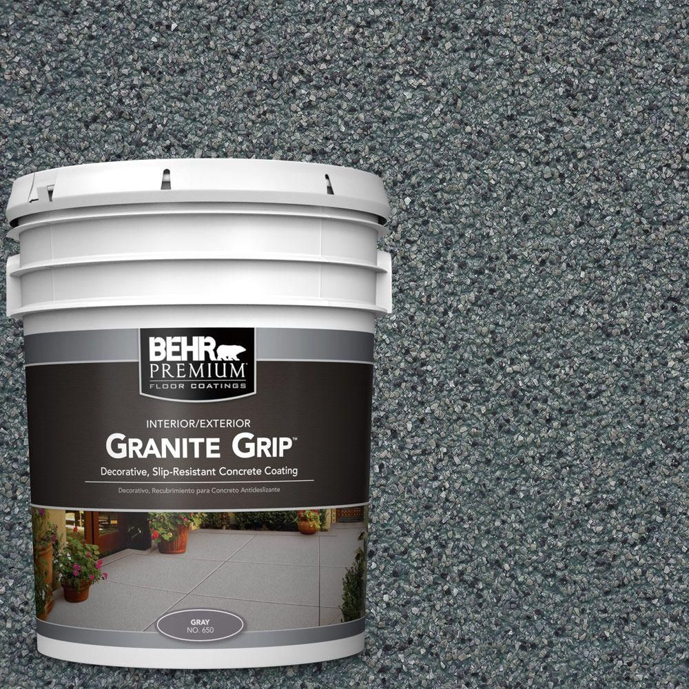 Behr Premium 5 Gal Gg 02 Stone Valley Decorative Flat