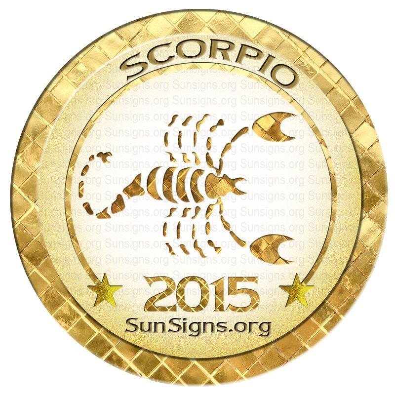 Scorpio Horoscope 2015 Predictions - will look back at end of year n see…
