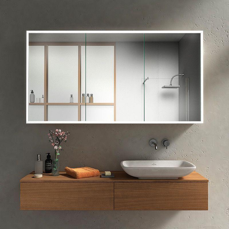 Spiegelschrank Mit Led Profilen Rundherum Kaufen Spiegel21 In 2020 Spiegelschrank Spiegelschrank Beleuchtung Spiegelschrank Led