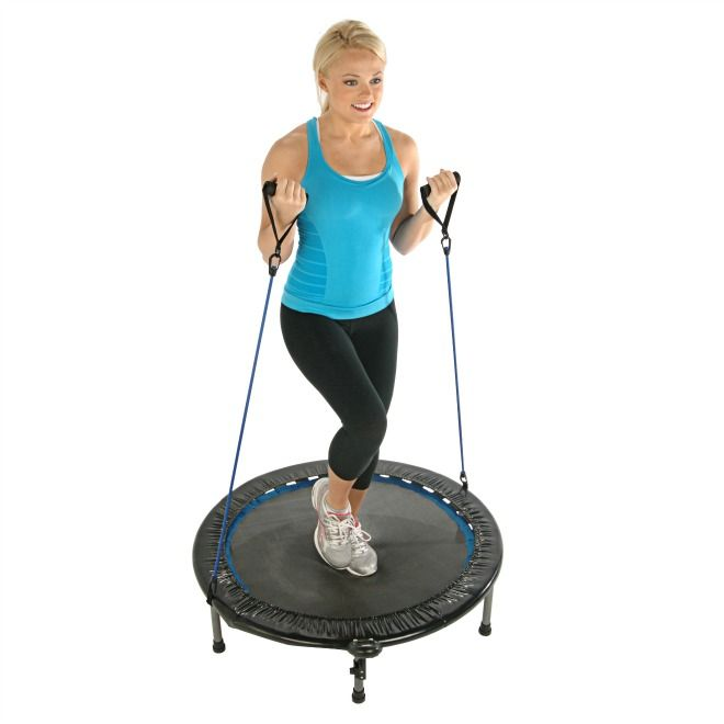 """Bouncing on a trampoline can aid cleansing and build healthy tissues. How Not to Fall For """"The Lazy Gal's Guide to Detox"""":  Exercises that Help You Cleanse"""