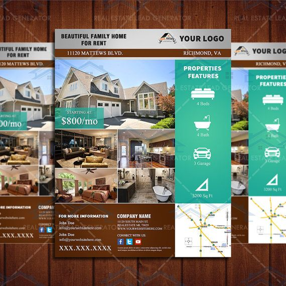 Home Real Estate Real Estate Flyers And Resume Styles