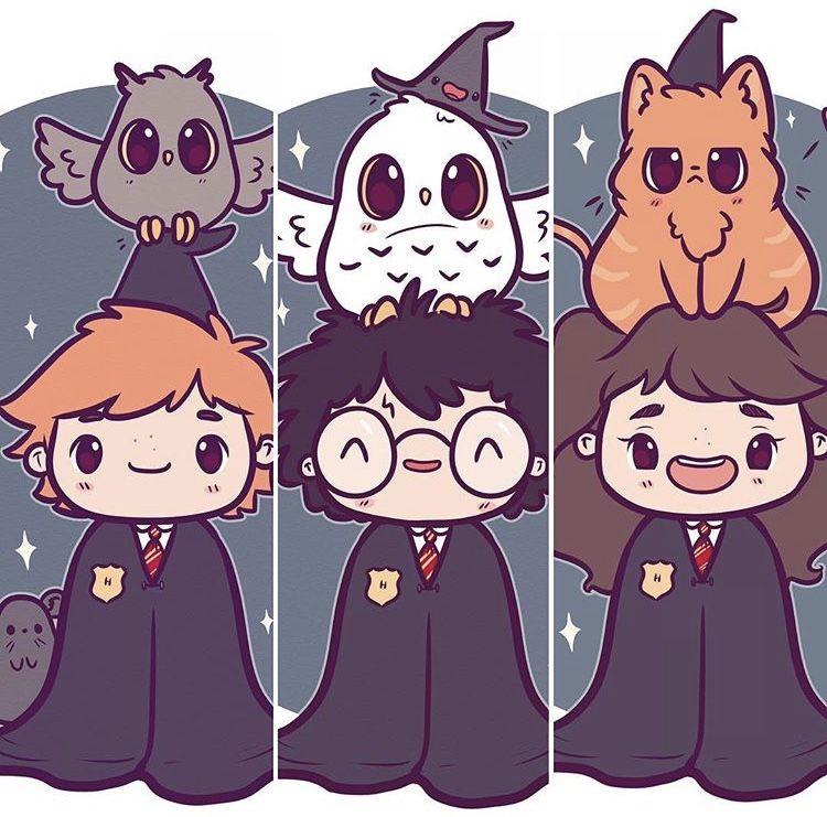 Pin De Jafet Omar En Harry Anime De Harry Potter Dibujos Kawaii Dibujos De Harry Potter
