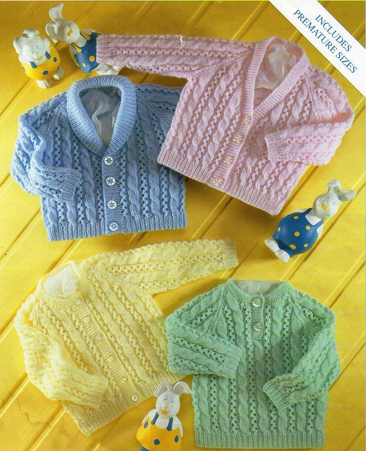d9acfe48f baby cable cardigan sweater knitting pattern pdf shawl collar jacket ...