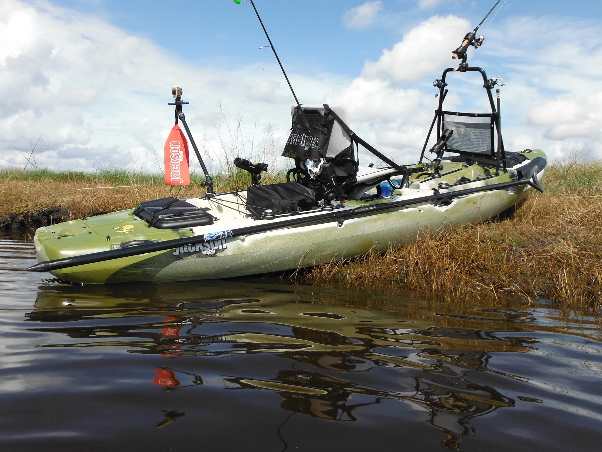 Yak gear brand ambassador alan r found some time to take for Fishing jackson kayak